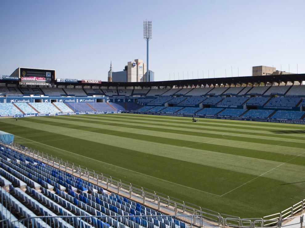 El Real Zaragoza retomará la competición el sábado 13 de junio frente al Alcorcón, a puerta cerrada en el estadio de La Romareda.