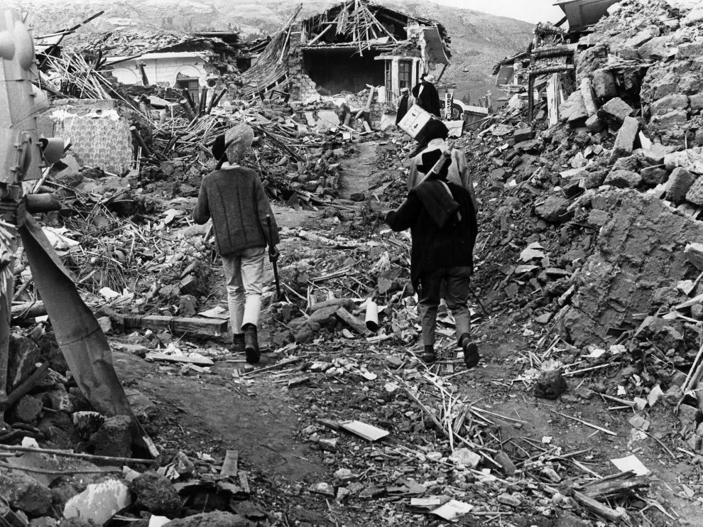 Perú recuerda los 50 años del terremoto en Ancash que asoló pueblos enteros