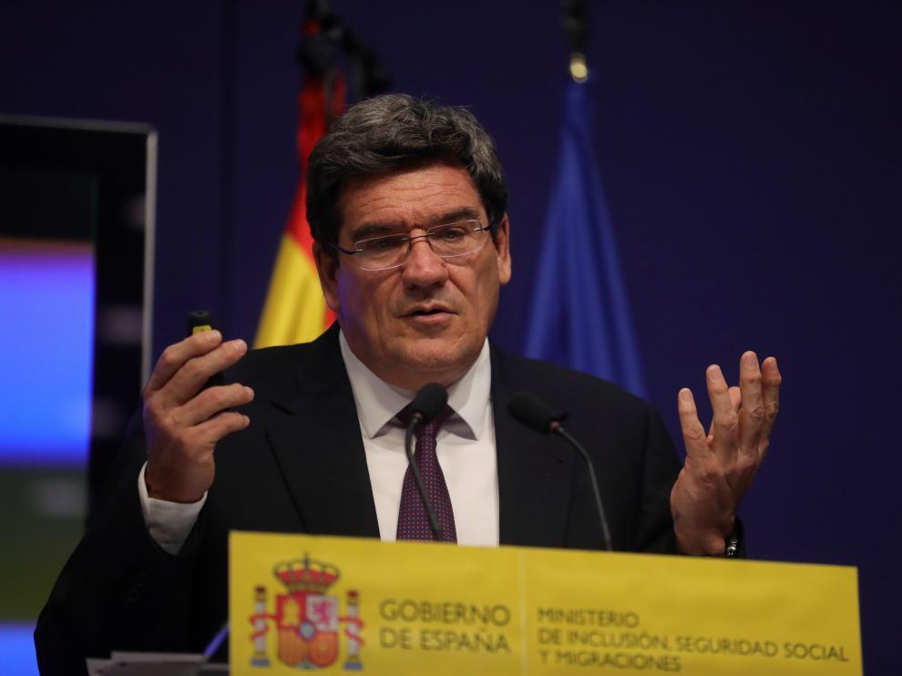 Rueda de prensa de José Luis Escrivá