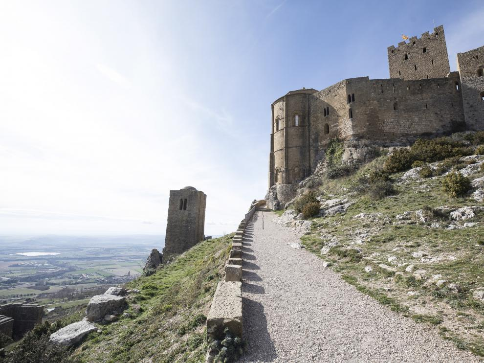 El Castillo de Loarre, en la provincia de Huesca.