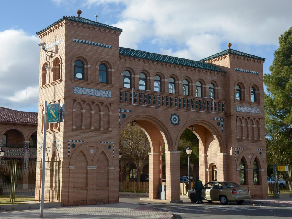 Casa cuartel de la Guardia Civil de Teruel /2017-12-16/ Foto: JorgeEscudero [[[FOTOGRAFOS]]] [[[HA ARCHIVO]]]