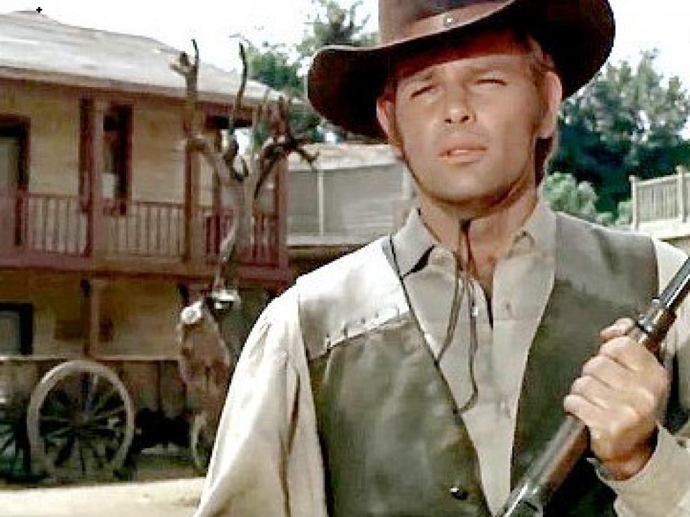 El actor y cantante Dean Reed.