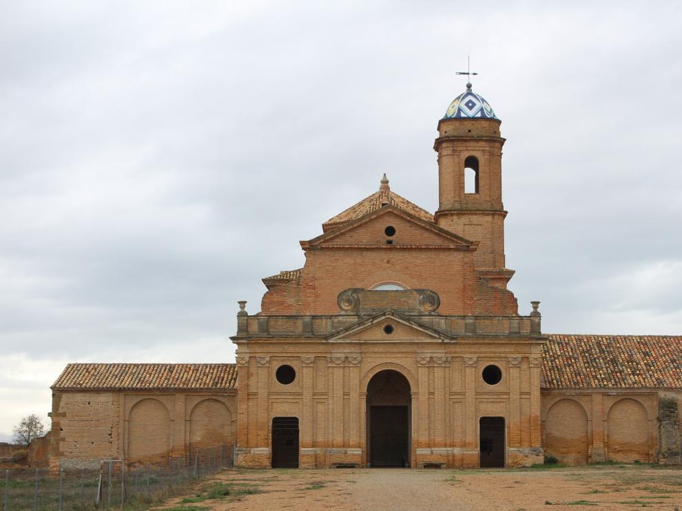 La Cartuja de Las Fuentes (Sariñena) ha recibido ya más de 1,5 millones de euros de inversión
