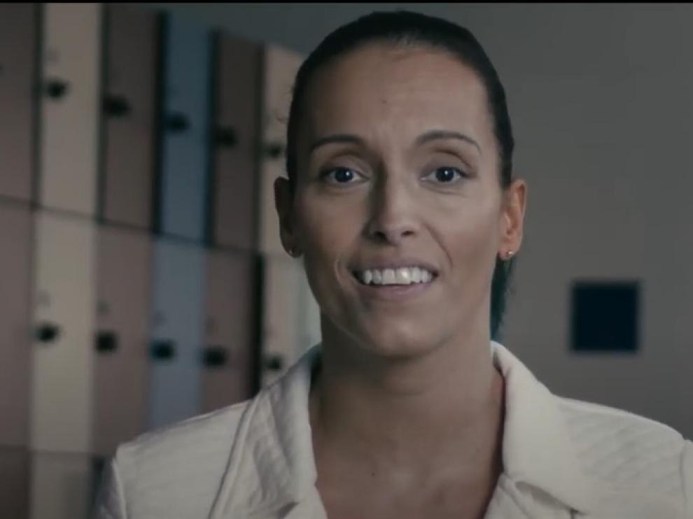 Teresa Perales, en el vídeo de España Global.