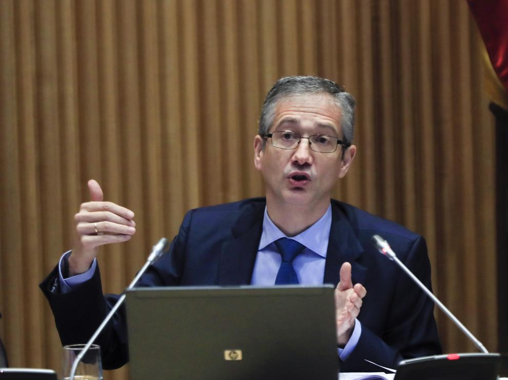 El gobernador del Banco de España, Pablo Hernández de Cos