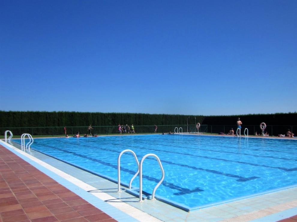 Foto de archivo de la piscina de Fonz