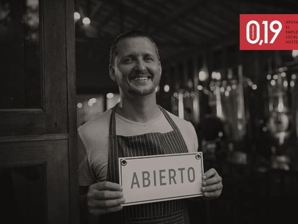 Más de 350 bares y restaurantes de aragoneses reciben la ayuda de la plataforma 0,19 de Ambar