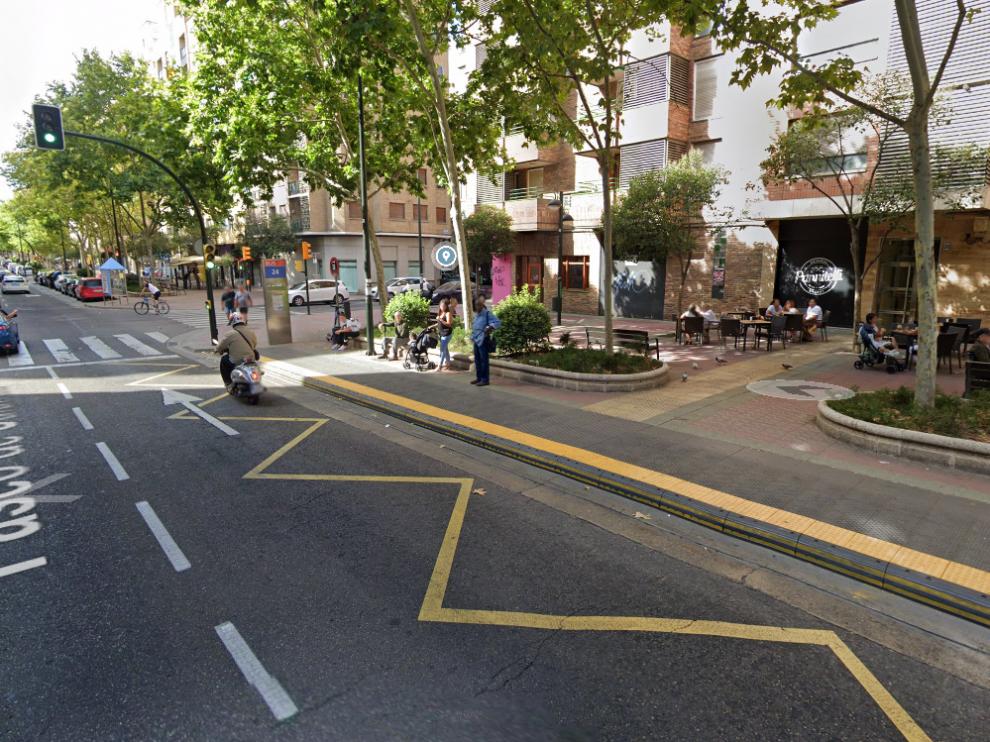 Los hechos ocurrieron en torno a las 16.35 en el paseo de Calanda de Zaragoza.