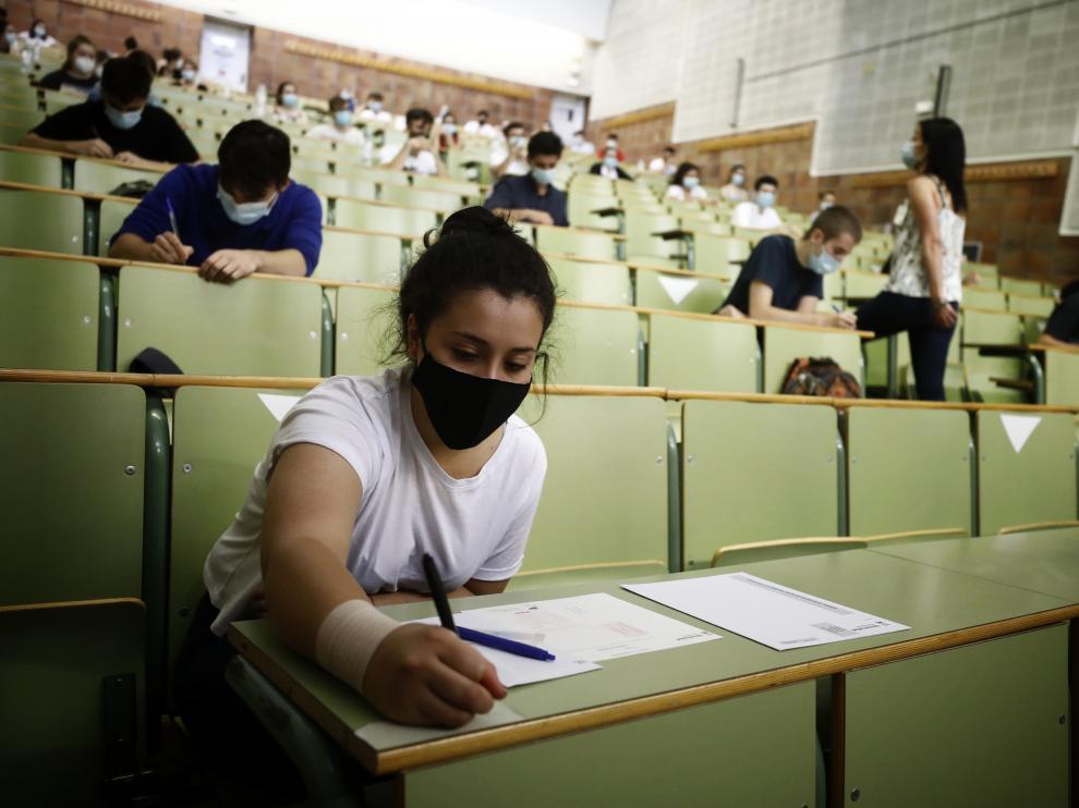 Más de 7.200 alumnos se presentan a la Evau más atípica de la historia.