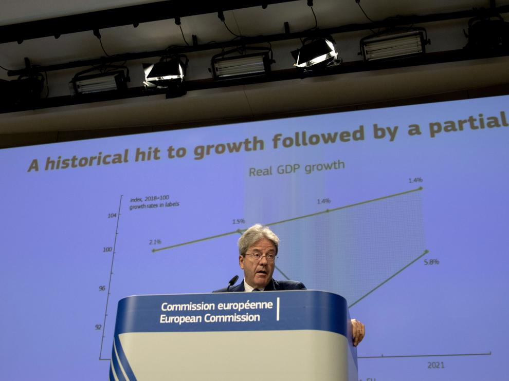 EU Commission expects economy to shrink more than expected