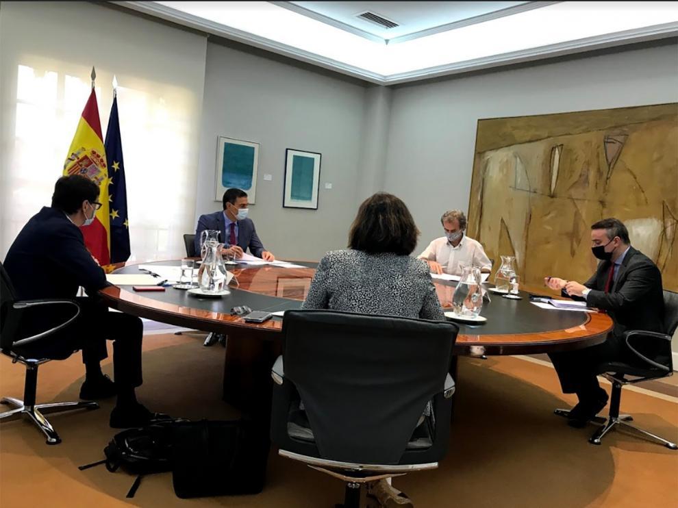 Reunión del comité científico del COVID-19
