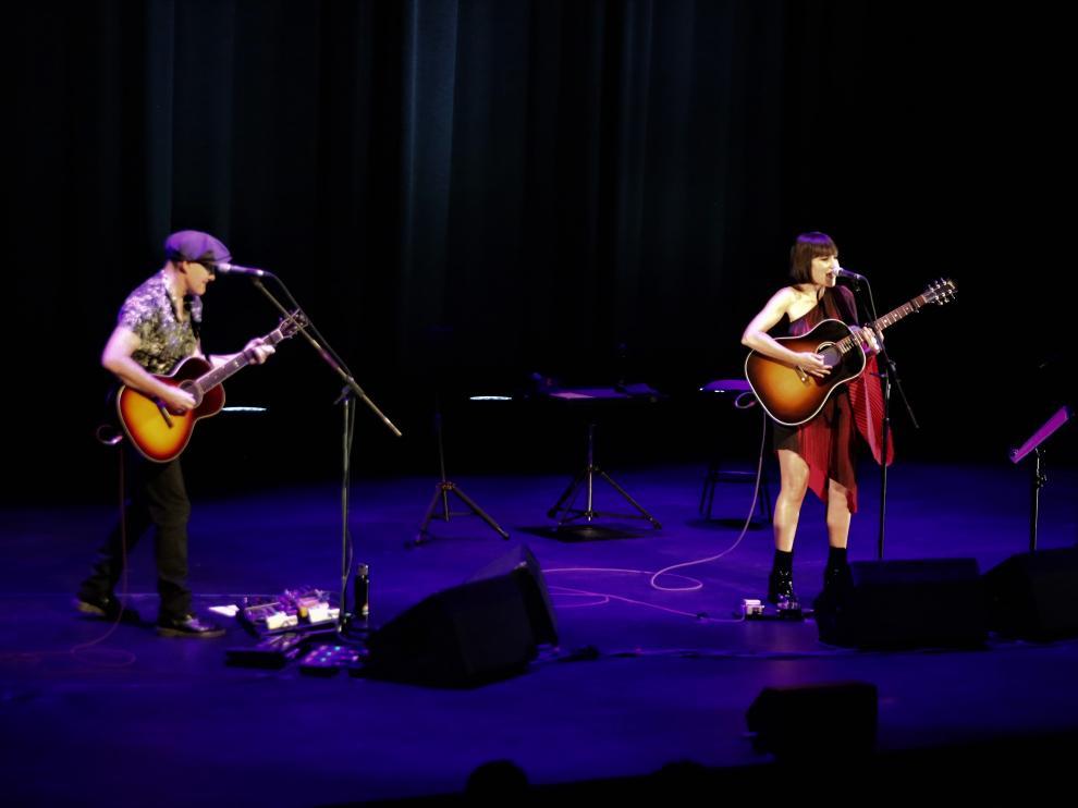 Amaral deslumbra en el Auditorio de Huesca.