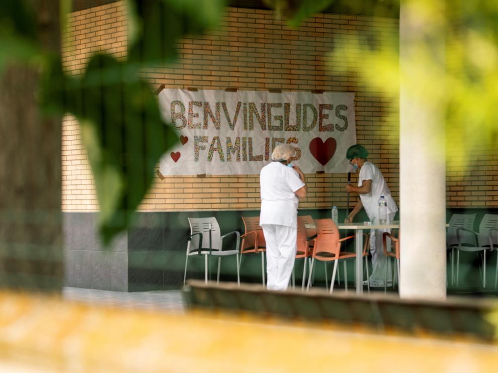 Residencias confinadas en Lleida