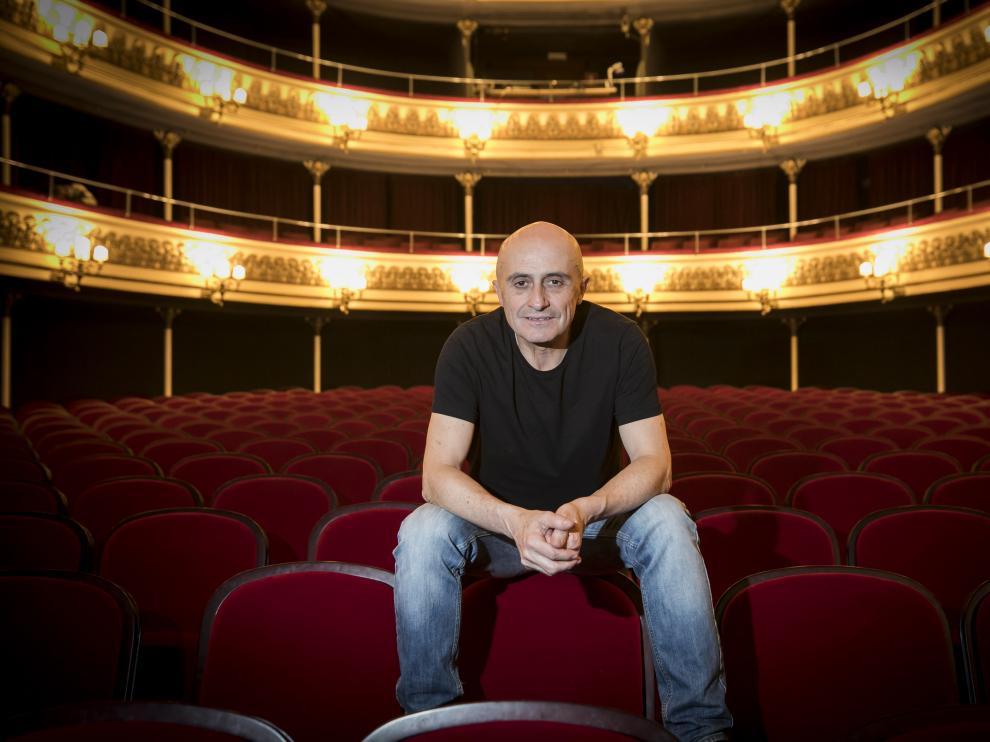 CULTURA Y OCIO. Teatro Principal. PEPE VIYUELA / 11-03-2020 / FOTO: GUILLERMO MESTRE [[[FOTOGRAFOS]]] [[[HA ARCHIVO]]]