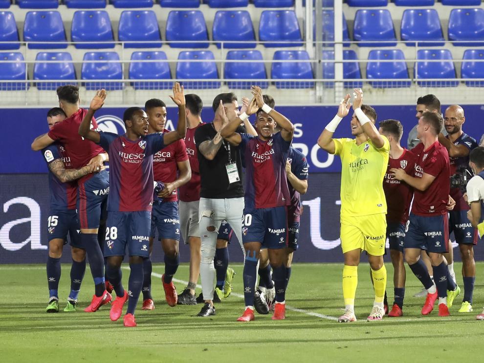 Partido Huesca Numancia- Ascenso del Huesca a primera division / 17-7-20 / Foto Rafael Gobantes [[[FOTOGRAFOS]]]