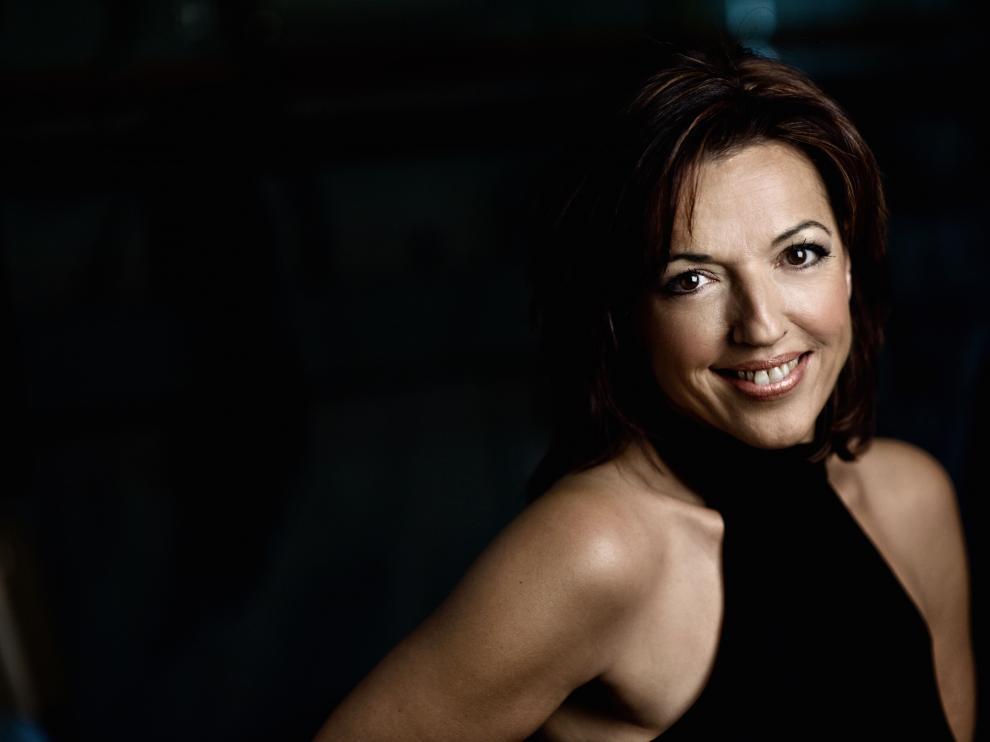 Laura Simó, protagonista en el Festival Jazzetania de Canfranc.