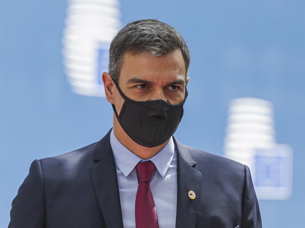 Pedro Sánchez en Bruselas este lunes