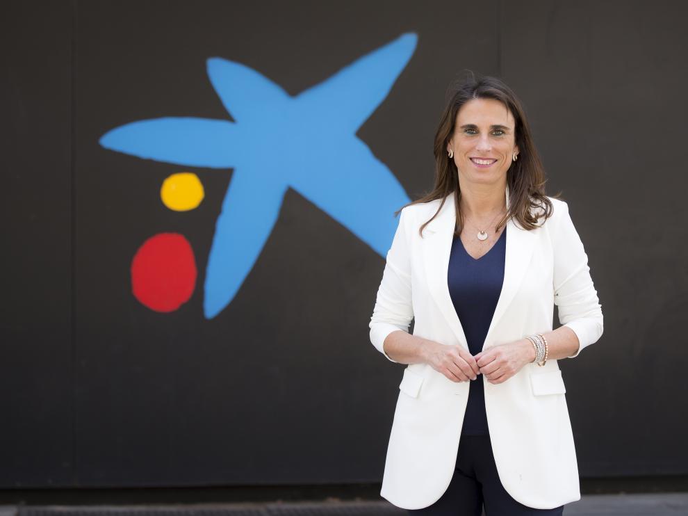 Isabel Moreno, directora territorial Ebro de CaixaBank.