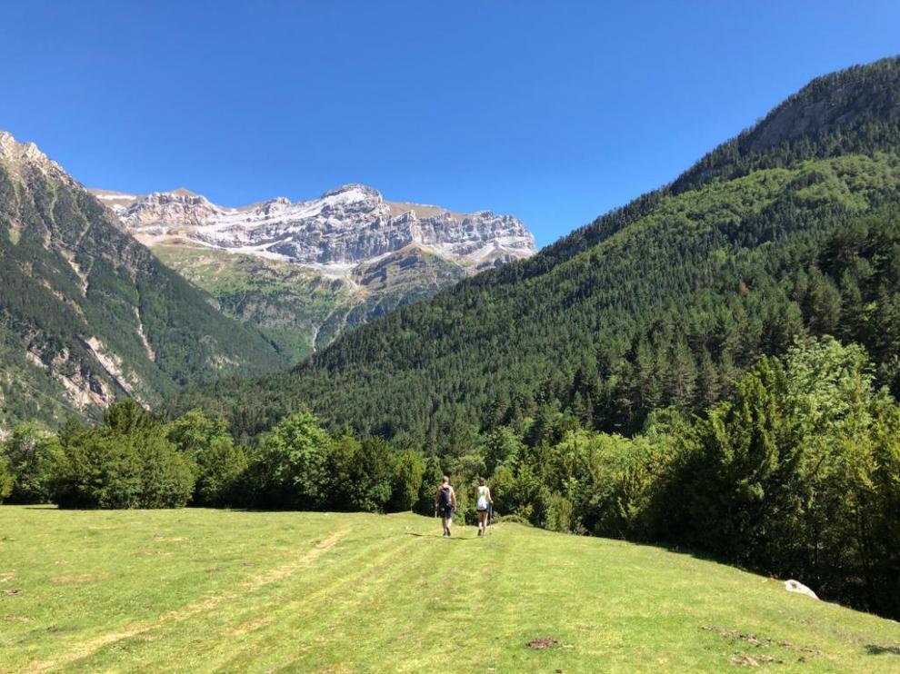 Una imagen del valle de Bujaruelo, este mes de julio.