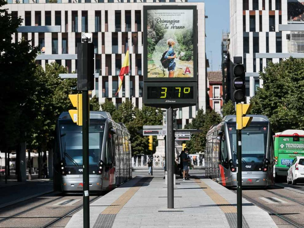Calor en Zaragoza