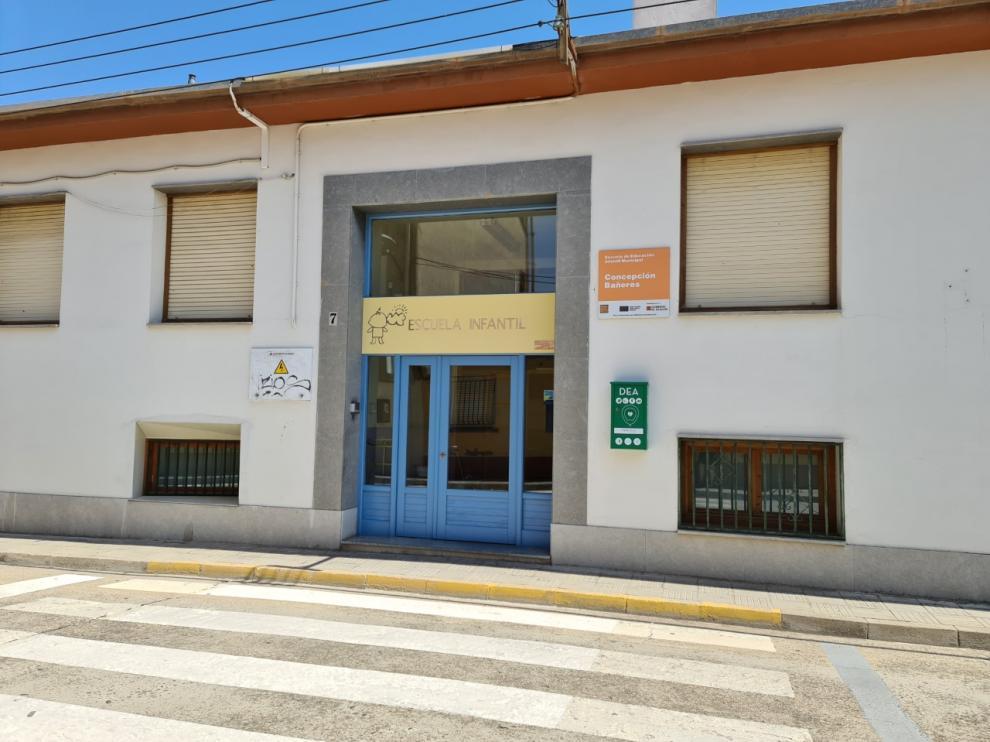 La actuación ha comenzado este lunes por la Escuela Infantil Municipal de Binéfar.