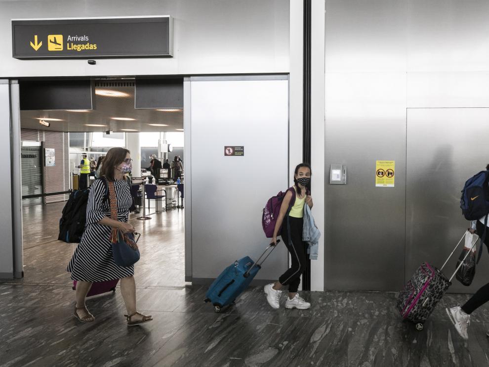 Vuelos con procedencia y destino a Londres desde el aeropuerto de Zaragoza