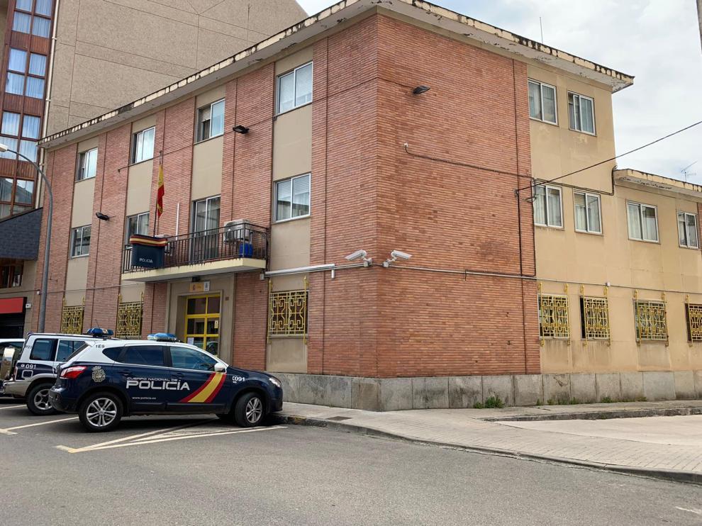 Imagen de la comisaría de Jaca.