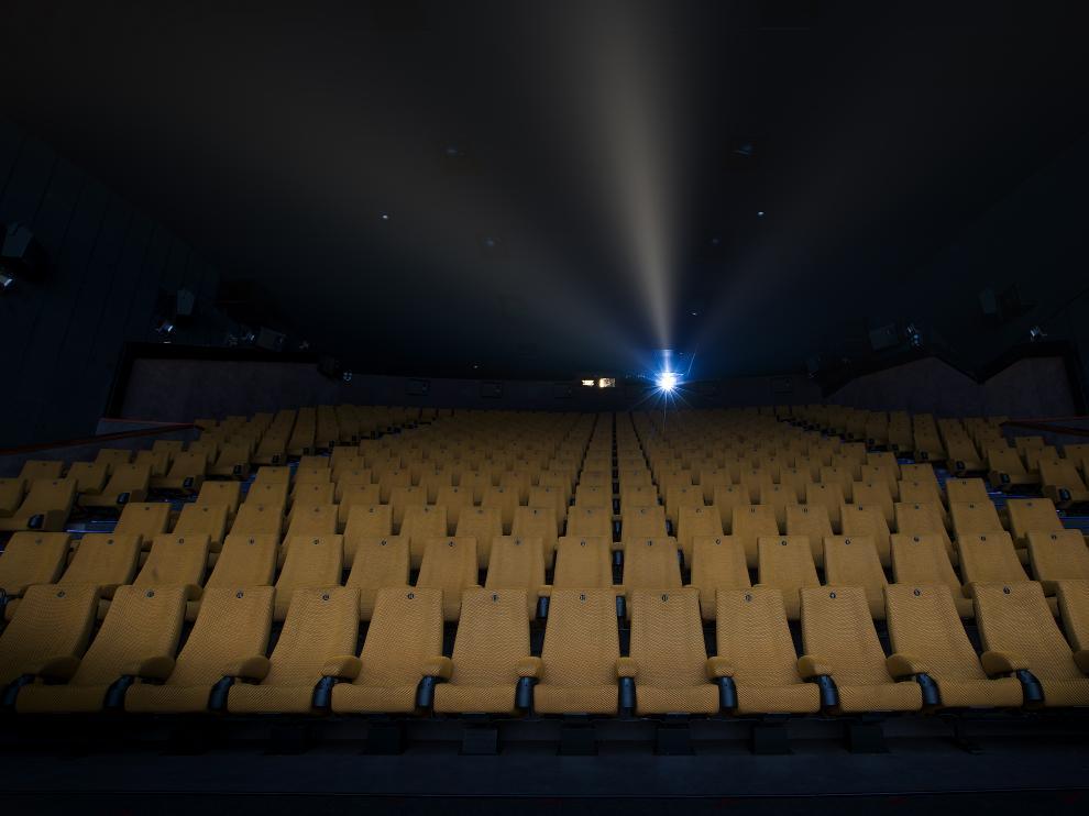 Una de las salas de los Cines Palafox.
