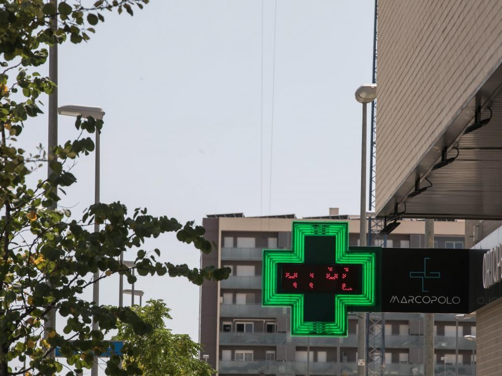 Zaragoza. Calor / 07-08-2020 / FOTO: GUILLERMO MESTRE [[[FOTOGRAFOS]]]