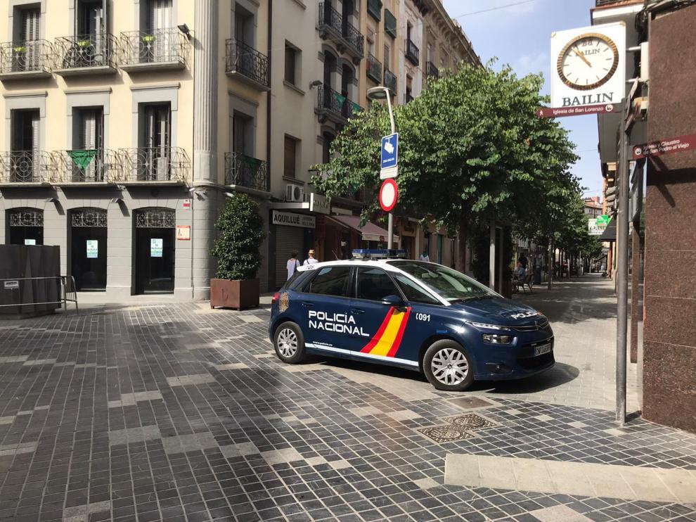 """Huesca cierra la primera noche de las 'no fiestas' con """"menos incidencias que un sábado cualquiera"""""""