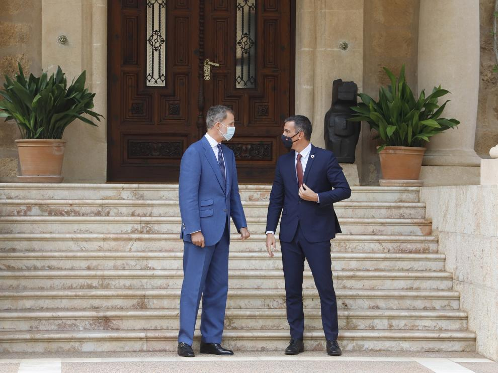 Despacho entre el Rey Felipe VI y el Presidente del Gobierno
