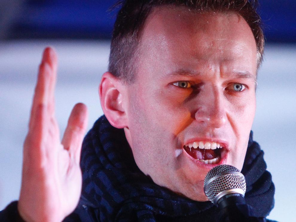 Foto de archivo del líder opositor Alexei Navalni