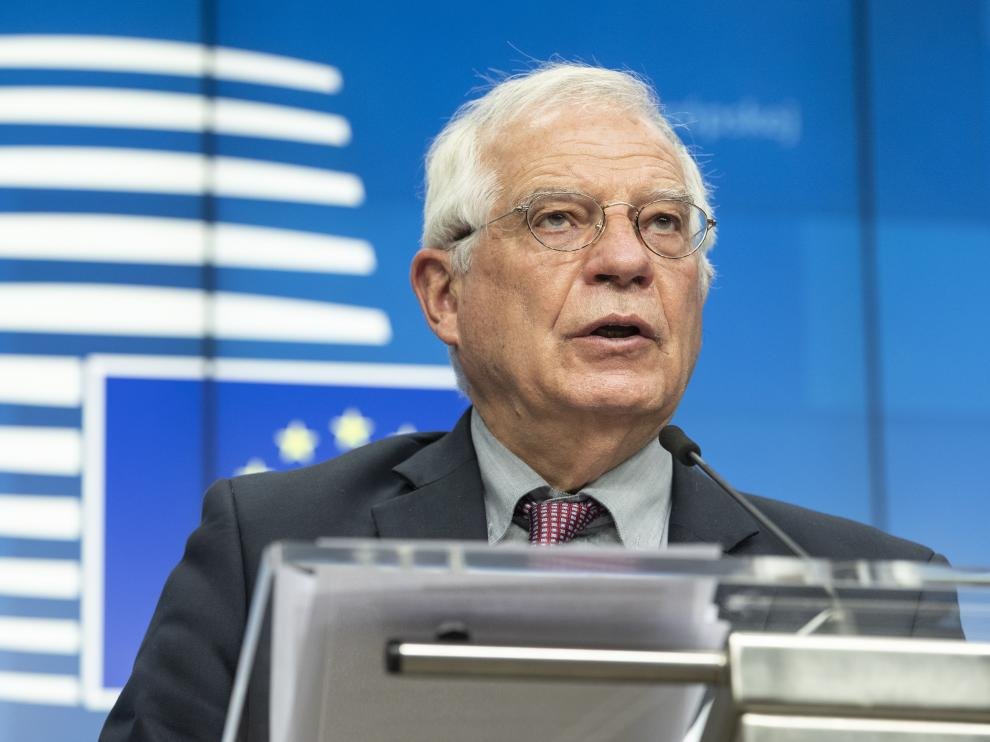 Josep Borrell el pasado 13 de julio en Bruselas.