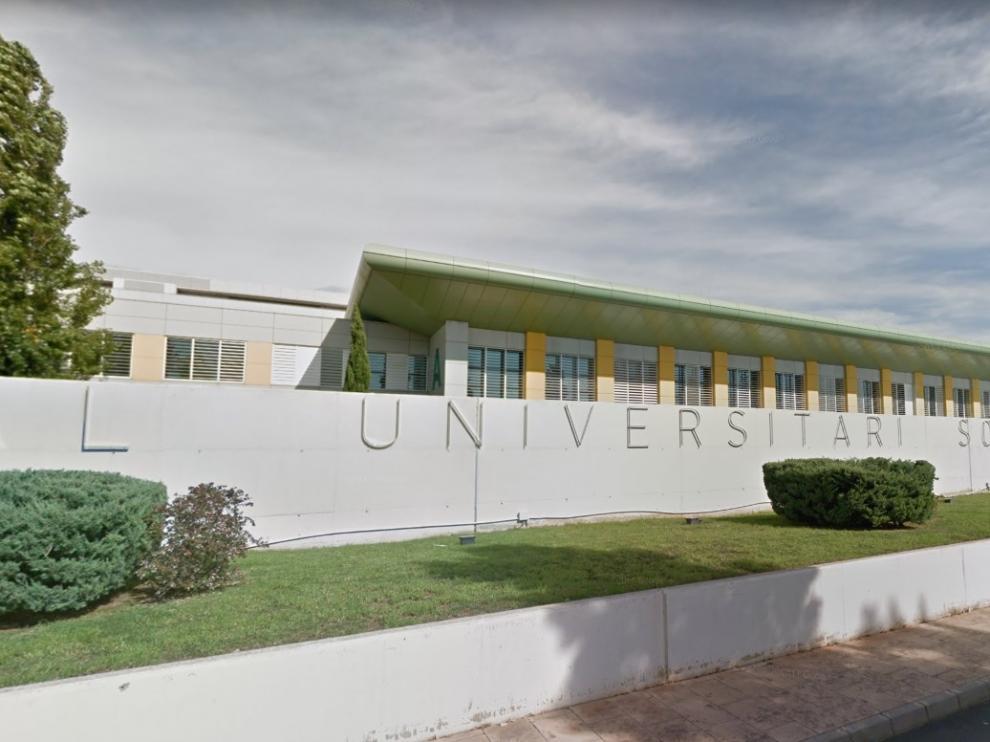 Una imagen del Hospital Universitario Son Espases, donde ingresó uno de los intoxicados en estado grave.