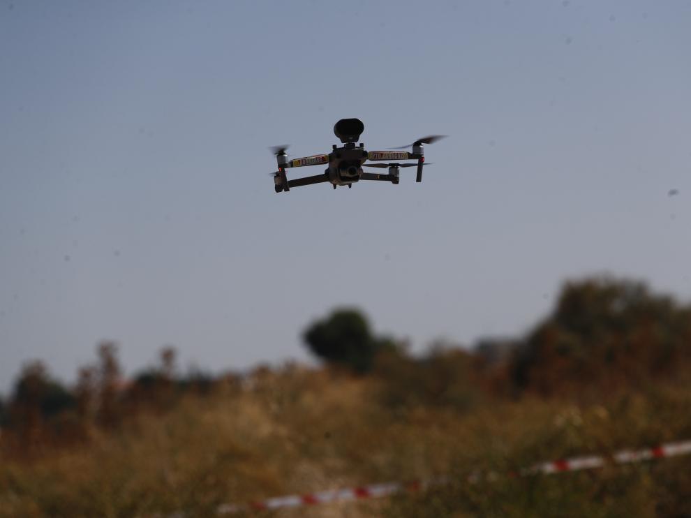 Nace la nueva unidad de drones de los Bomberos de Zaragoza.