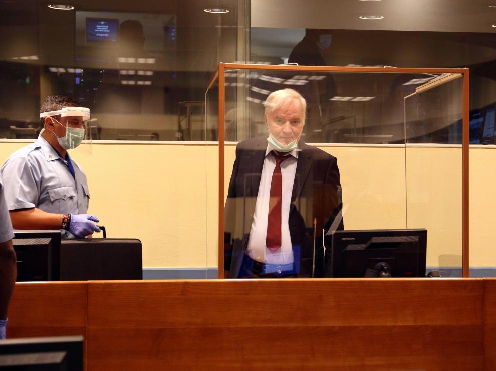 Ratko Mladic ante el tribunal