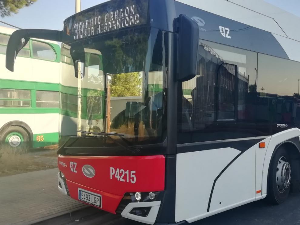 El autobús de la línea 38, en pruebas, este miércoles