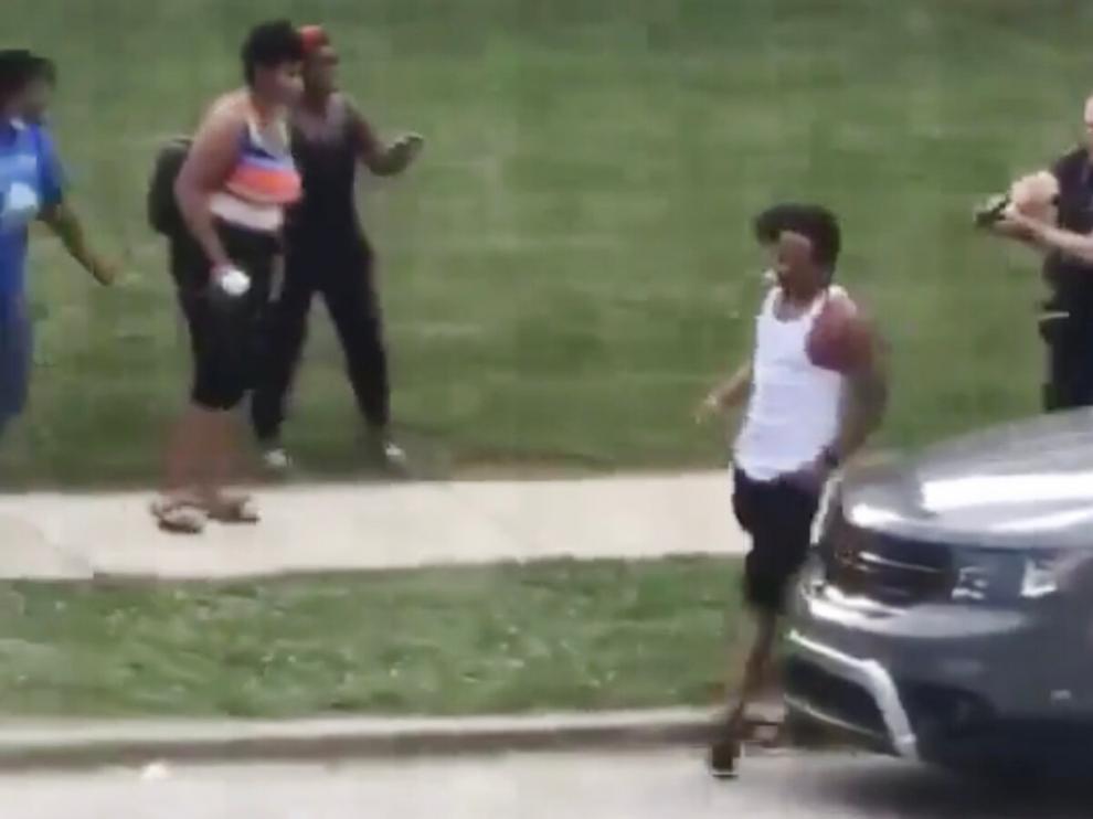 Imágen del vídeo difundido en redes sociales