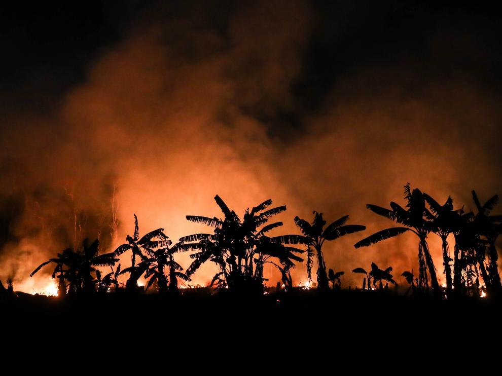 Los incendios amazónicos provocan cientos de hospitalizaciones en Brasil