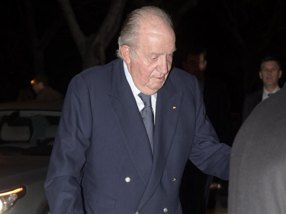 El rey don Juan Carlos en una foto de archivo.  EUROPA PRESS  (Foto de ARCHIVO)  17/02/2020  [[[EP]]] [[[HA ARCHIVO]]] El Rey Juan Carlos, en una reciente imagen de archivo