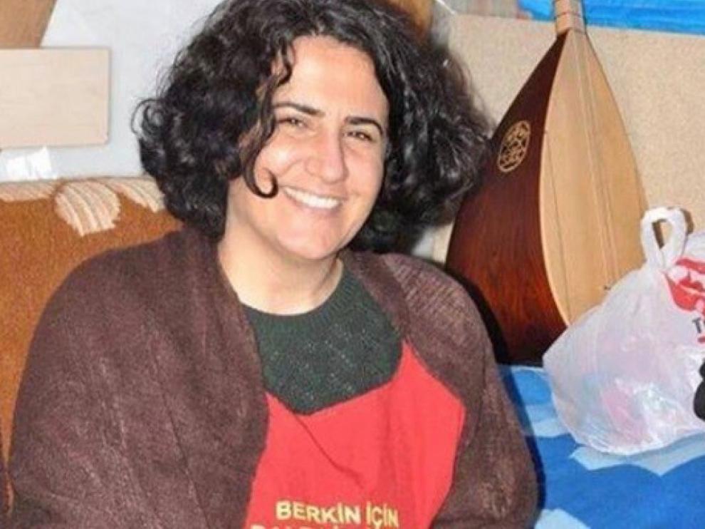 La abogada turca Ebru Timtik, que ha fallecido tras una huelga de hambre.