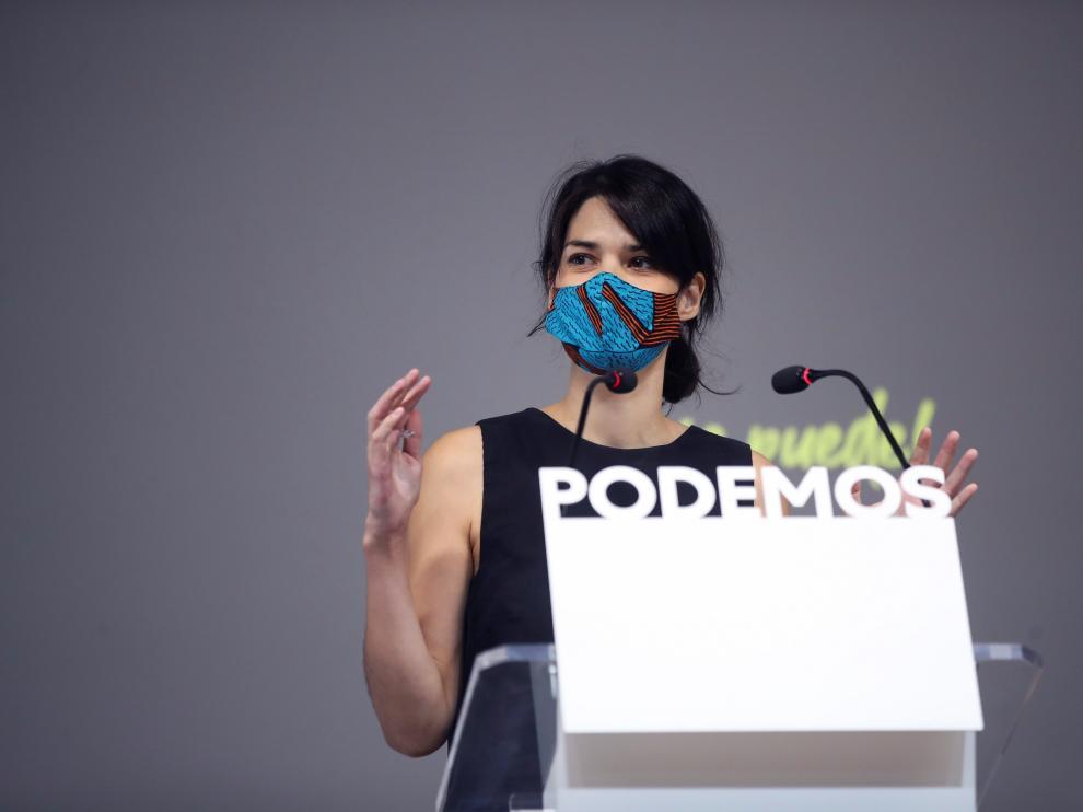 Rueda de prensa de Rafa Mayoral e Isa Serra
