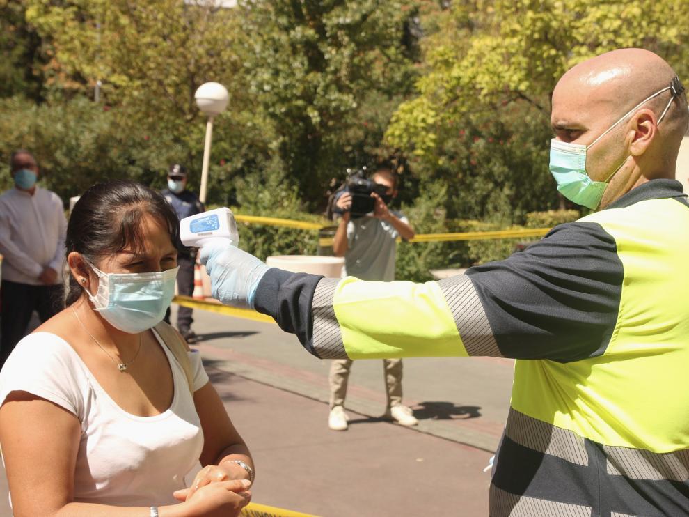 Pruebas para detectar asintomáticos en Madrid
