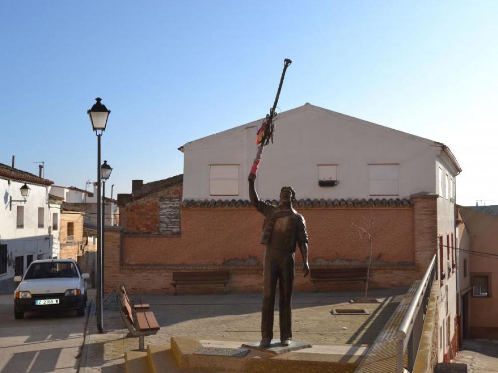 Monumento a los danzantes en Gallur
