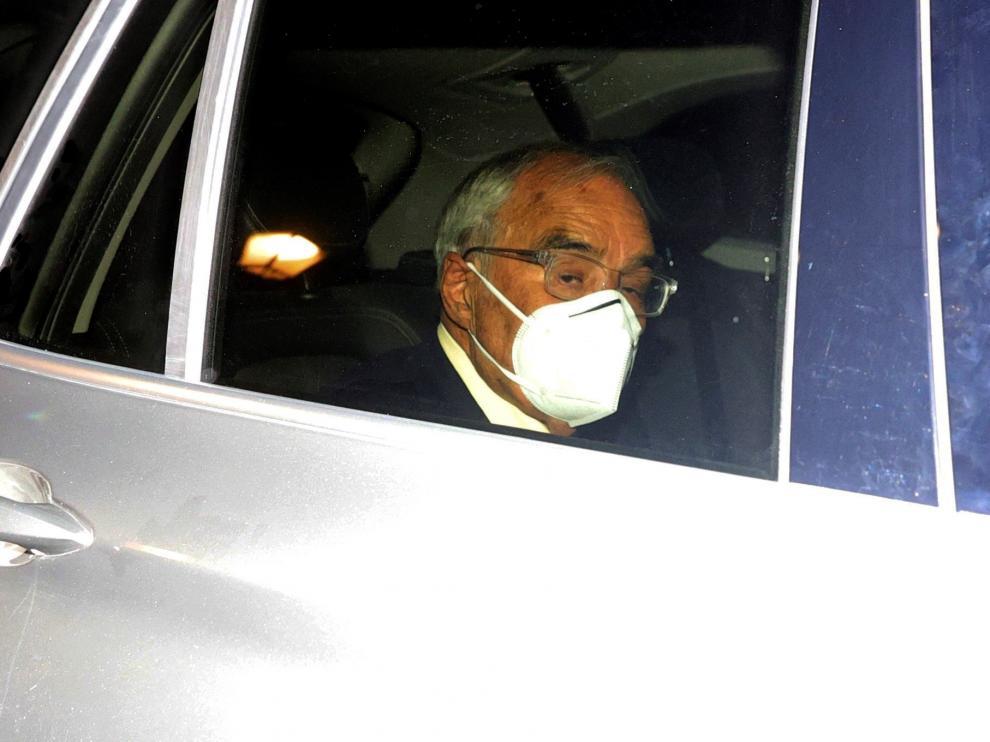 El exministro Rodolfo Martín Villa declara ante la jueza argentina María Servini, acusado de 12 muertes