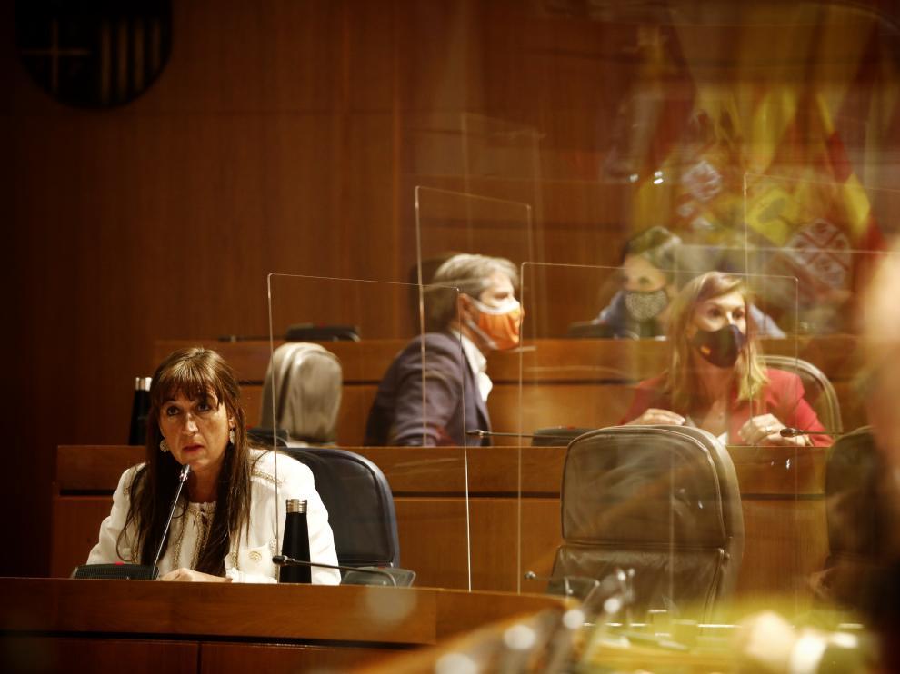 La consejera de Sanidad, Sira Repollés, ha anunciado la nueva orden este jueves en su comparecencia ante el pleno de las Cortes.