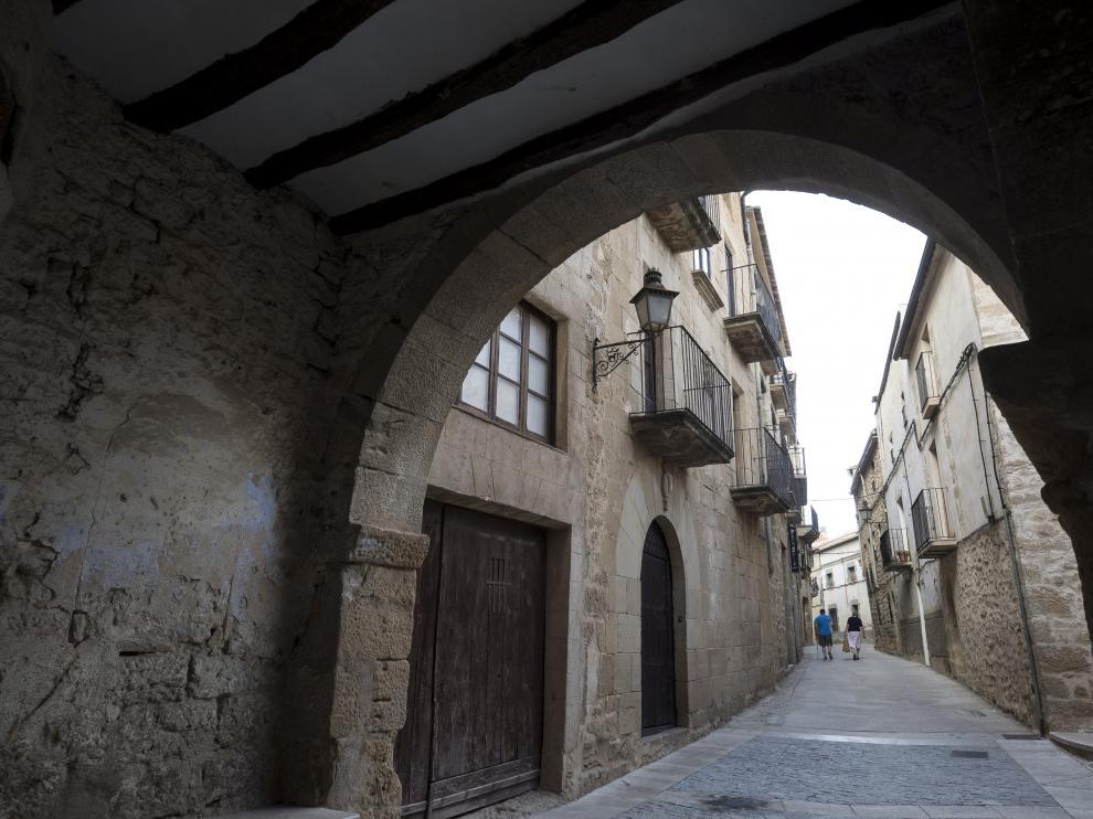 Una calle de Calaceite en una imagen de archivo.
