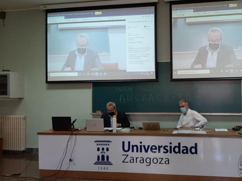 Curso bloodmanagement impartido por la Universidad de Zaragoza.