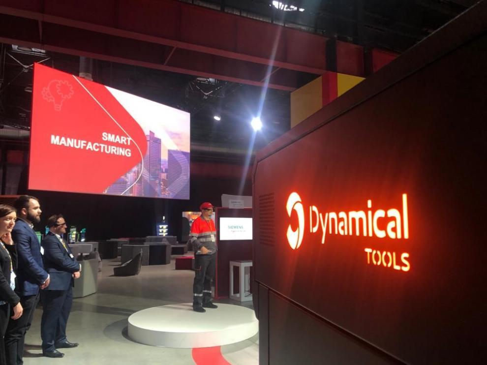 Presentación de Dynamical 3D en Varsovia, en un foro organizado por Coca-Cola.