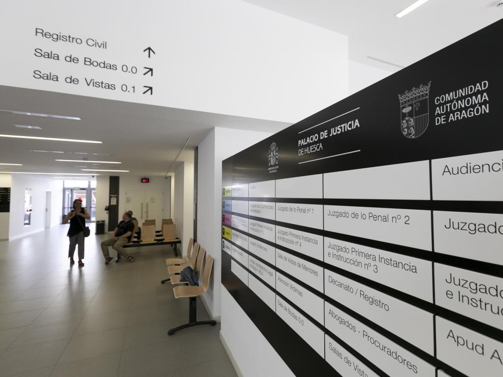 Juzgados de Huesca.